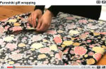 Furoshiki Book Wrapping Video