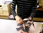 Furoshiki handbag video